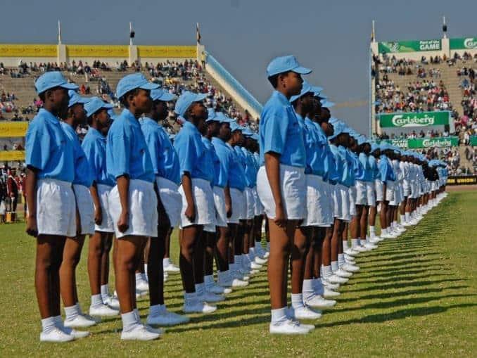 Präsidententag in Botswana
