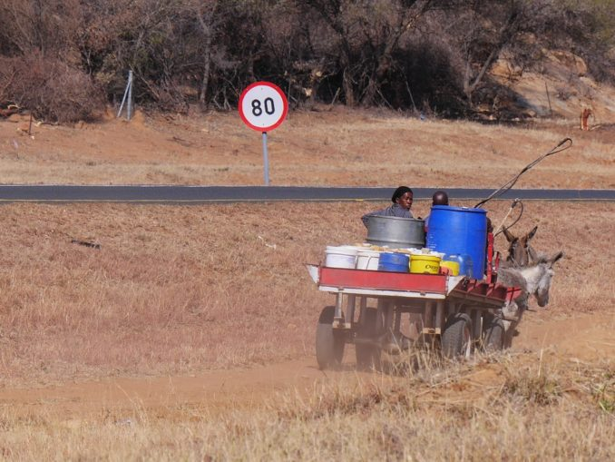 botswana-verkehr