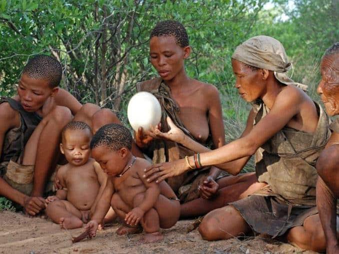 Ureinwohner von Botswana