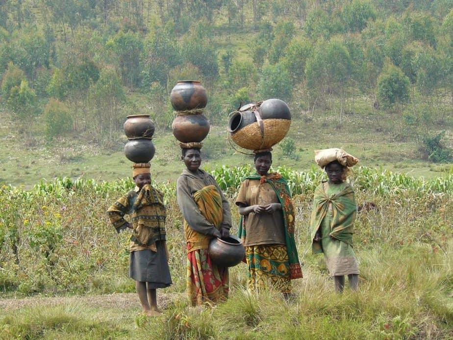 Frauen in Burundi